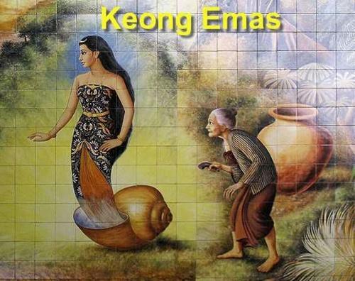 Cerita rakyat Keong Mas