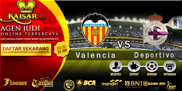 Prediksi Bola Jitu Valencia vs Deportivo La Coruna 20 Mei 2018