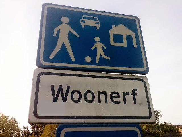 Woonerf przykłady