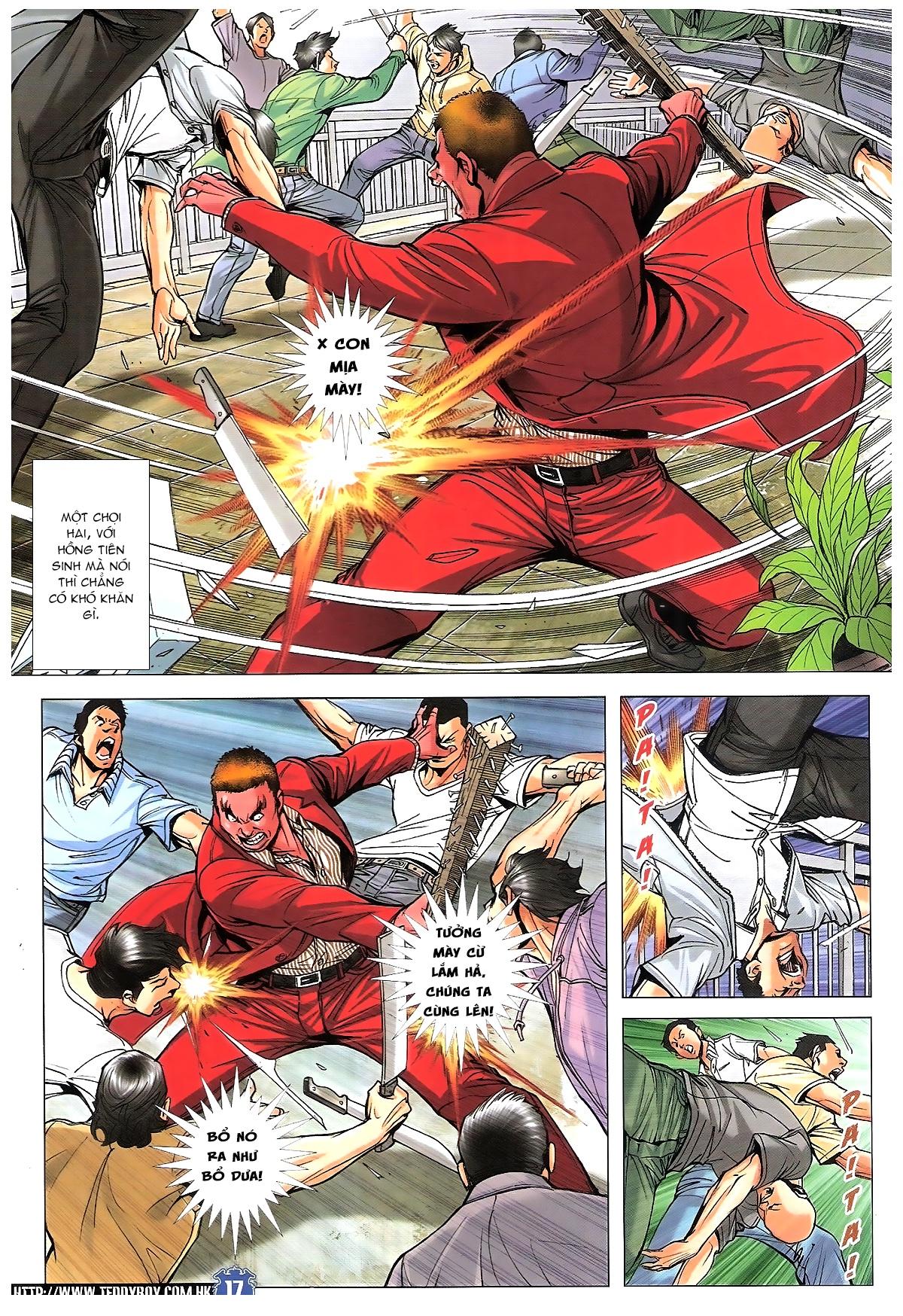 Người Trong Giang Hồ chapter 1807: hồng tiên sinh trang 16