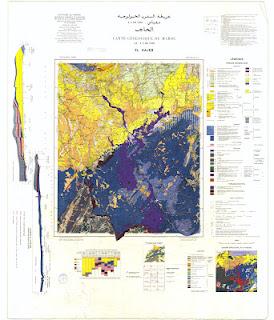 El Hajeb Morocco Geology
