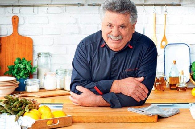 """Tα πιάτα της Επανάστασης"" μαγείρεψε ο Λευτέρης Λαζάρου"