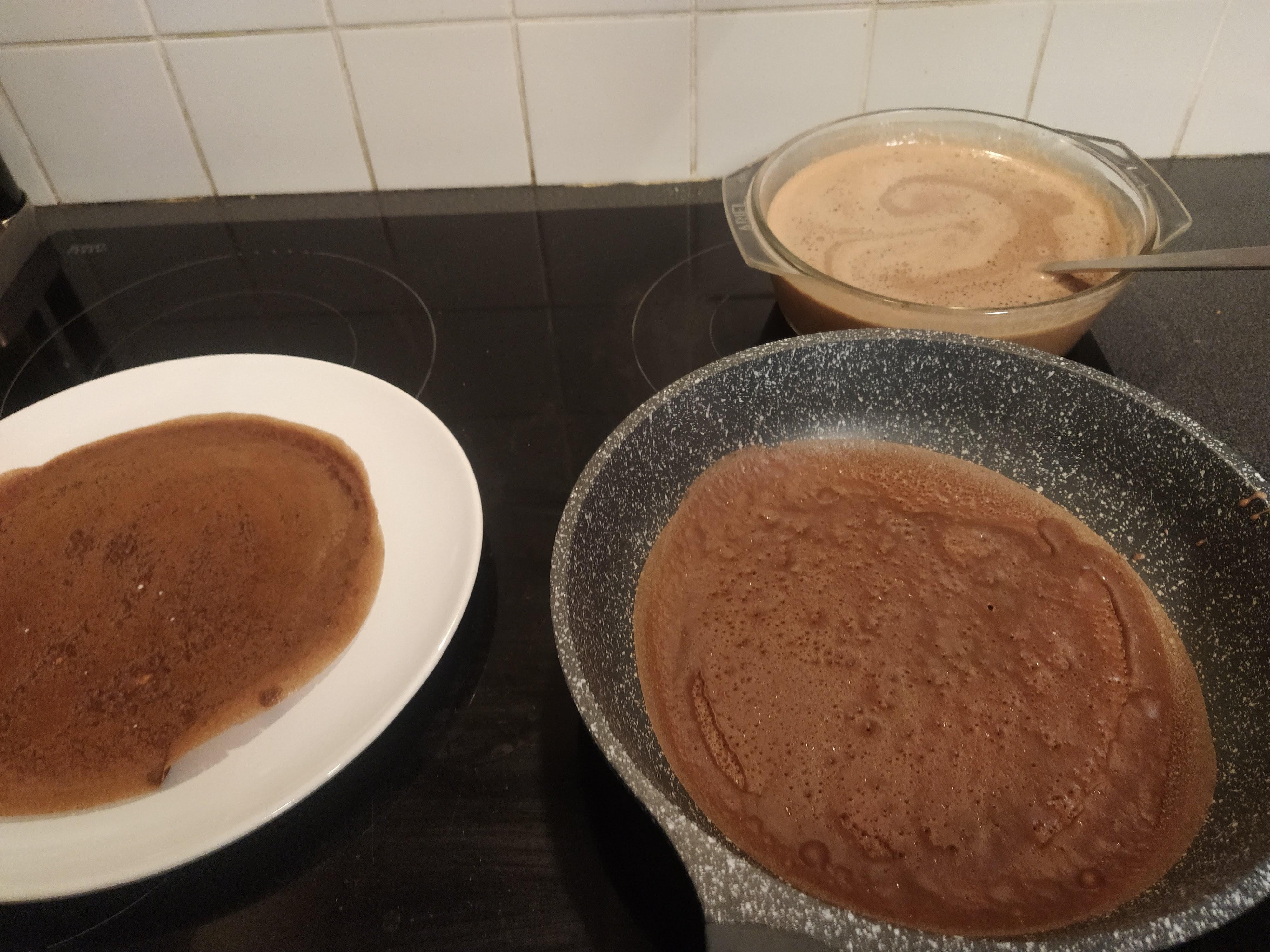 recette crêpes tout chocolat
