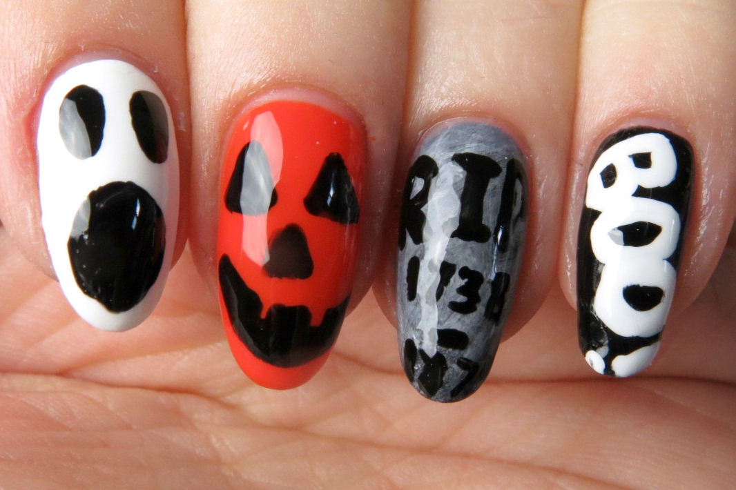 Mani Monday: Fun Halloween Nail Design | Kaitlyn Elisabeth Beauty