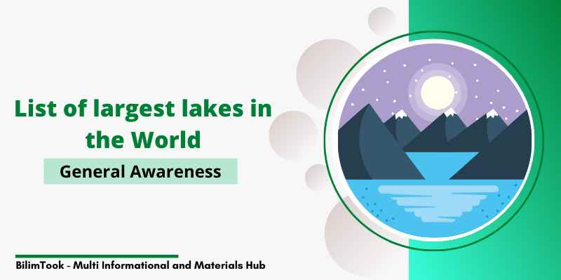 List of largest lakes in the World - PDF Download