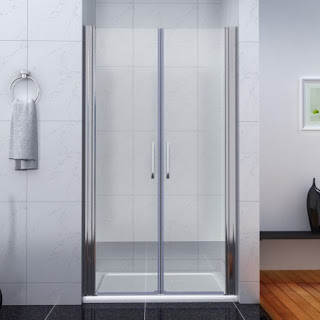 Hinged Glass Shower Doors