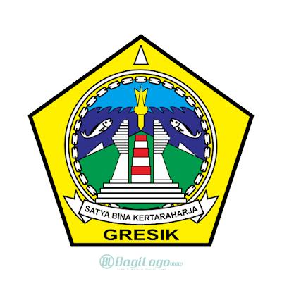 Kabupaten Gresik Logo Vector