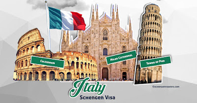 Italy Visa Application Form 2020