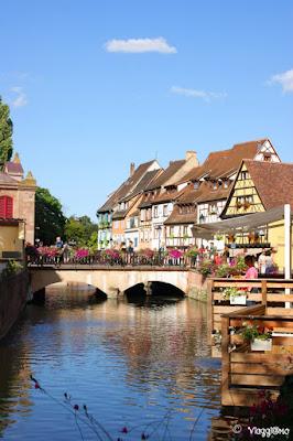 Scorcio dei pittoreschi quartieri lungo il canale Lauch