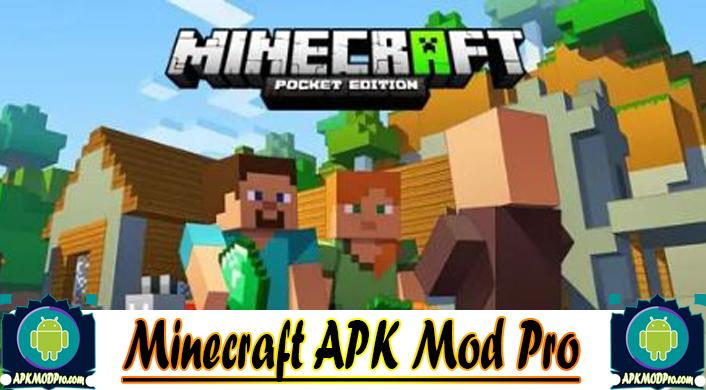 Minecraft MOD APK 1.14.2.50 (MOD Immortality/Unlocked) APK MOD PRO Terbaru 2020