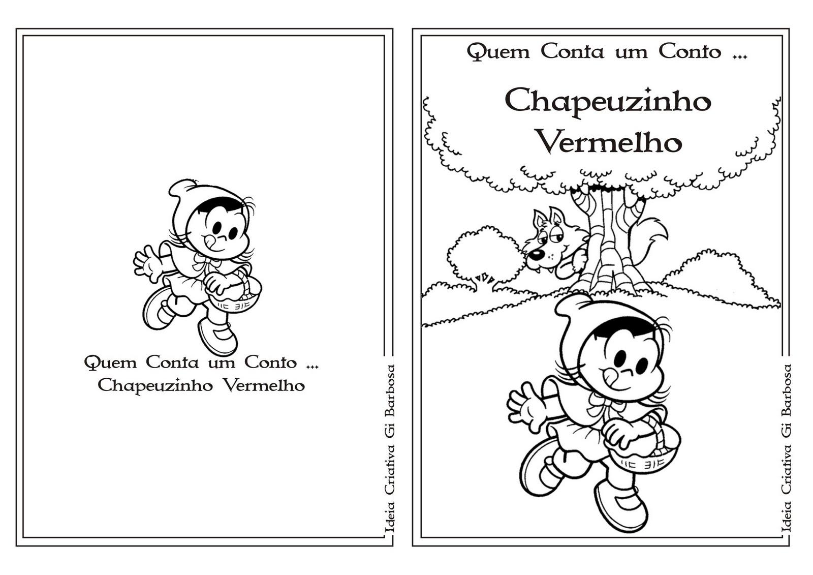 Cantinho Da Professora Eulália: Livro Chapeuzinho Vermelho