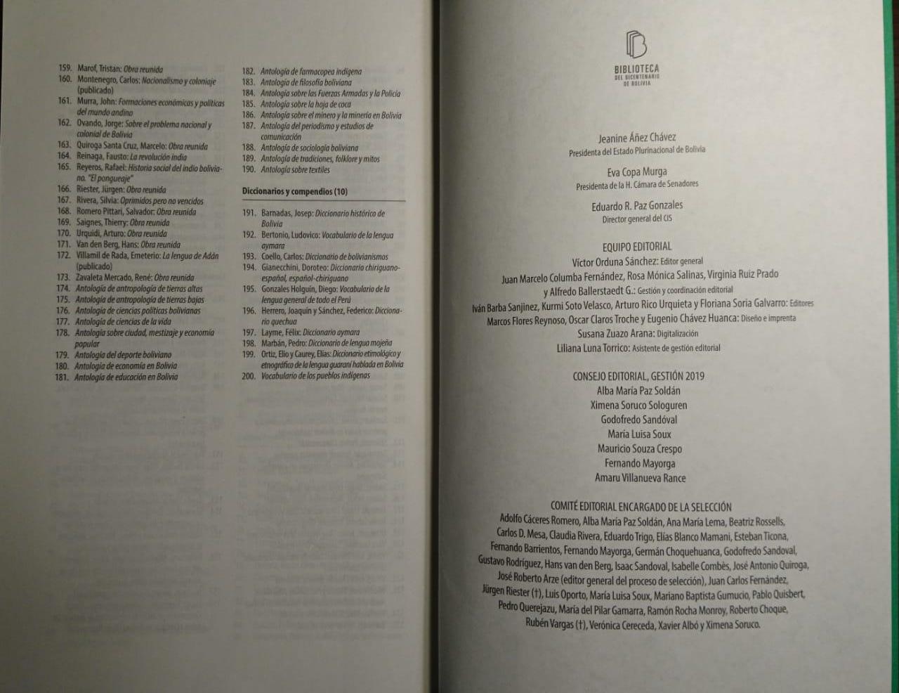 La página final de dos obras fue cortada por funcionarios del CIS / EL POTOSÍ