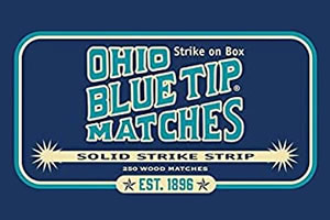 Ohio Blue Tip Matches