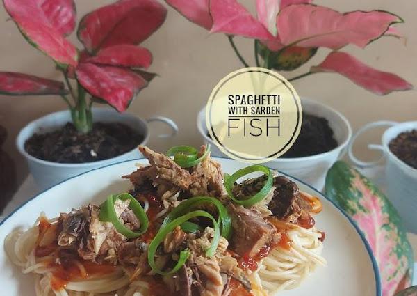 Spaghetti with Sarden Fish