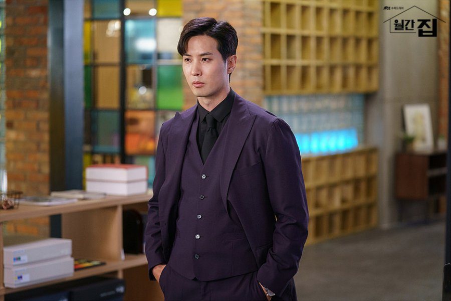 Pemeran Drama Monthly Magazine Home : Kim Ji-Suk as Yoo Ja-Sung