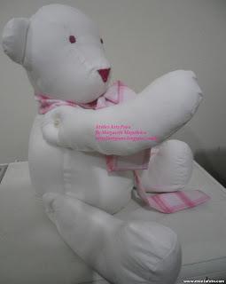 5 - Primeiro urso  de pano