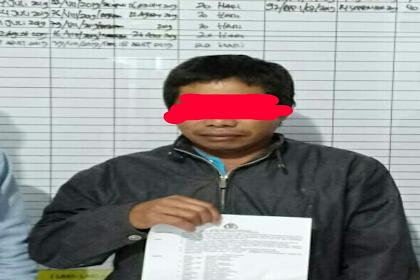 Unit PPA Sat Reskrim Polres Tana Toraja Tahan Tersangka Pelaku Asusila Anak dibawah umur