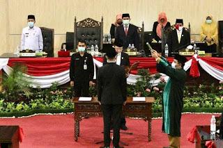 Gantikan Aulia Rahman, Haris Kelana Damanik Resmi Dilantik PAW Anggota DPRD Medan
