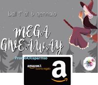 Giveaway della Befana : vinci gratis un buono Amazon da 5 euro