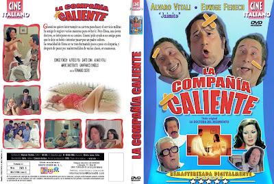 Carátula dvd:La doctora del regimiento / La compañía caliente