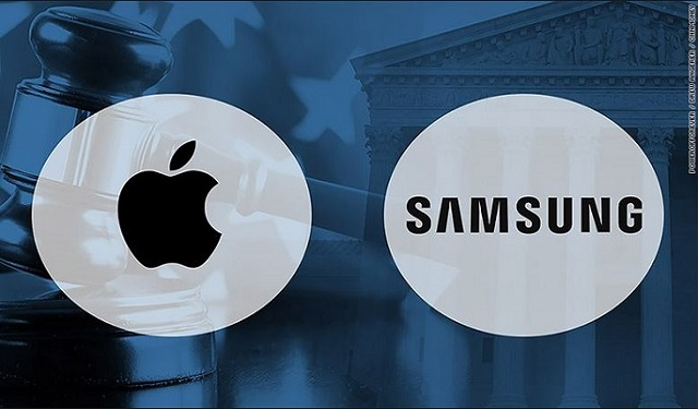 Logo Apple dan Samsung