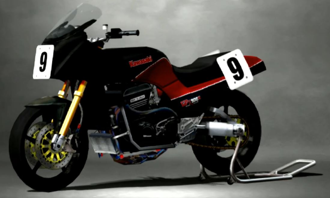 Kawasaki GPZ900R 1984 Racing Modify