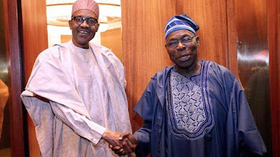 Obasanjo: I Can't Stop Buhari From Seeking A Second Term