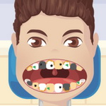 لعبة تنظيف اسنان نجم البوب