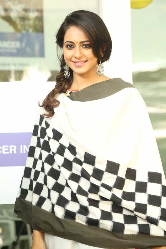Rakul Preet At Children's Day Celebrations