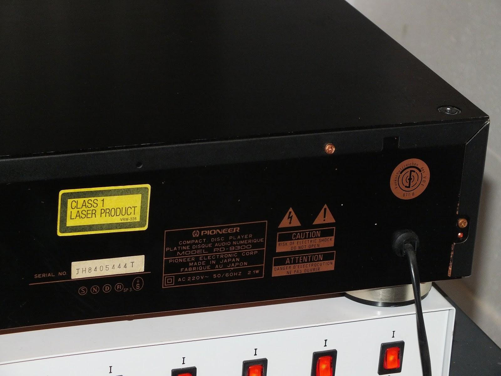 cd проигрыватель pioneer pd-50-k инструкция
