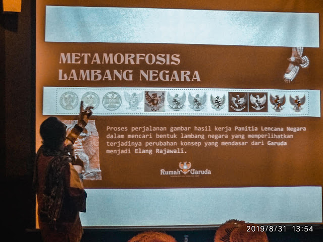 proses dan sejarah terbentuknya lambang Garuda Pancasila