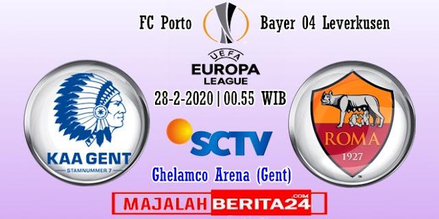 Prediksi KAA Gent vs AS Roma