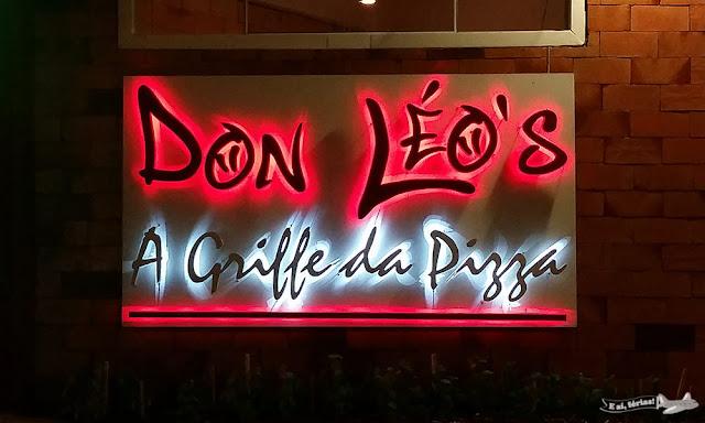 Penha (SC) - Don Leo's Pizzaria - E aí, férias!