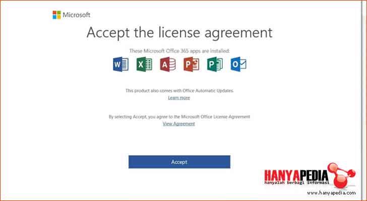 perjanjian lisensi office 365