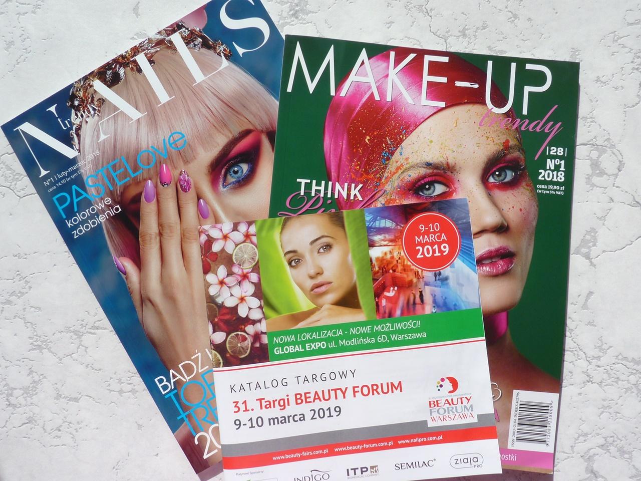 Nowości marcowe i zakupy z targów Beauty Forum 2019