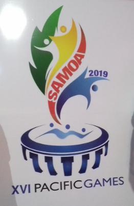 Samoa 2019 Pacific Games logo, dates,news, & sports, games, list.