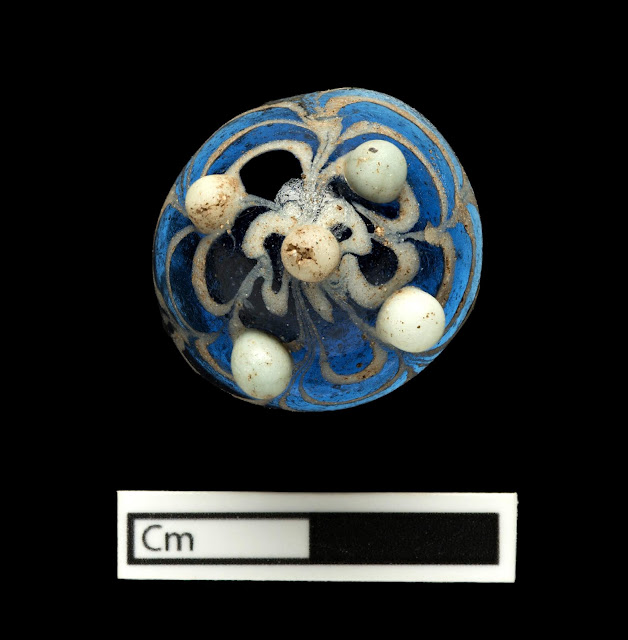 1,200 year-old glass boardgame piece found on Lindisfarne