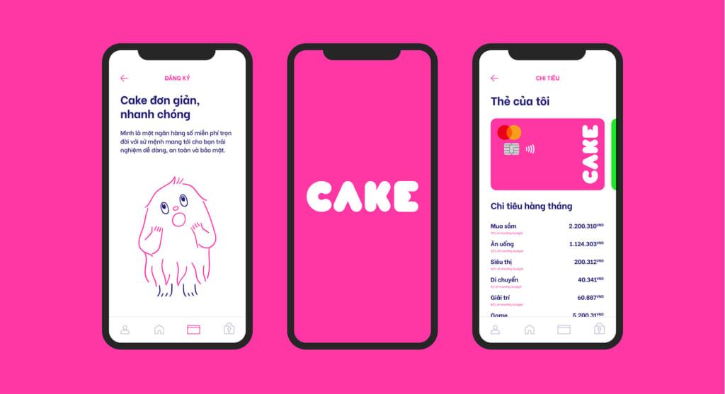 Trải nghiệm Cake by VPBank ngân hàng số miễn phí trọn đời