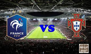 نتيجة المباراة المنتخبين البرتغال و فرنسا ( يورو 2020 ) في بث مباشر 23/6/2021