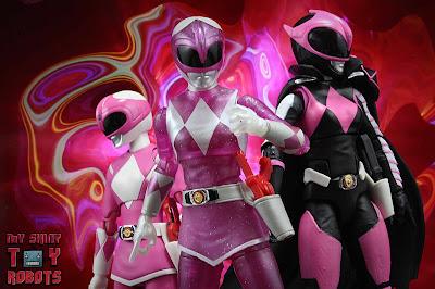 Lightning Collection Mighty Morphin 'Metallic' Pink Ranger 55