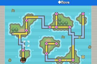 Pokemon Cyan GBA Mapa Region Celia