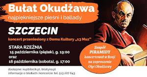 15-16 październik 2021, Szczecin, Polska - koncert pieśni Okudżawy