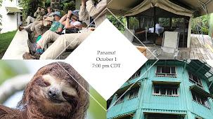Laura's October 1 Zoom program: Panama!!