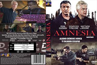 Backtrace - Amnesia - Cover - DVD