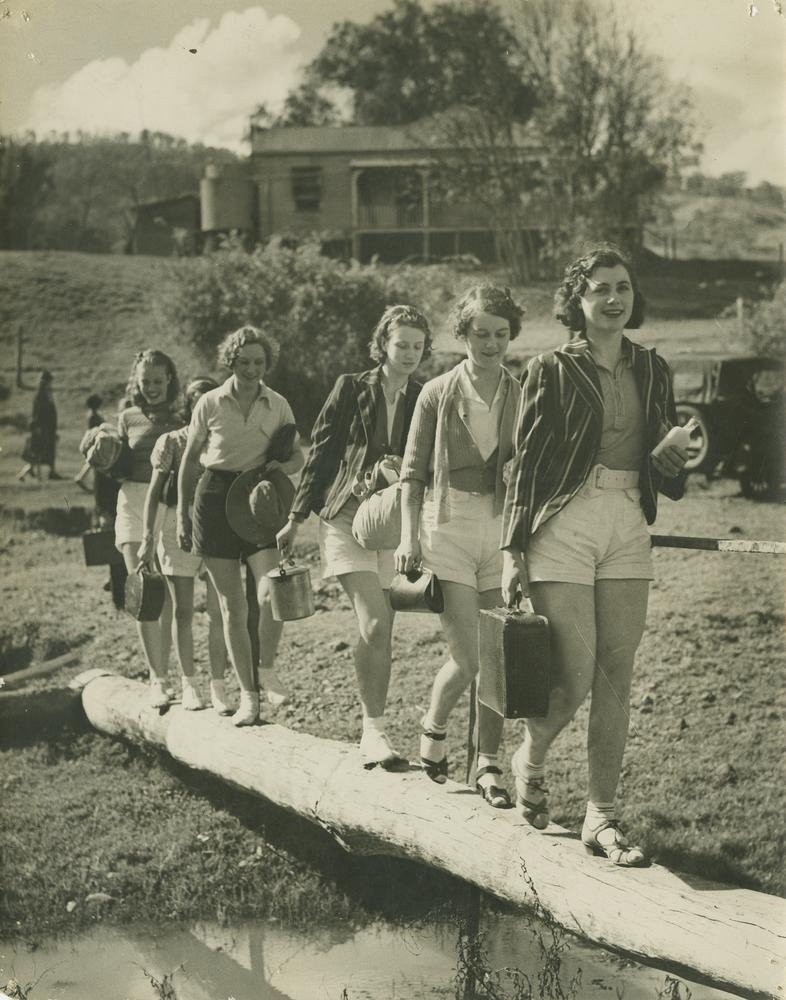 Hiking In Canungra Queensland 1936 Vintage Everyday