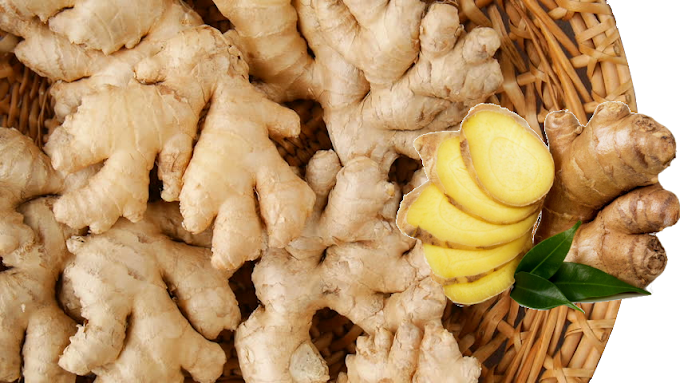 Ginger as spieces and with lots of heath Benefits