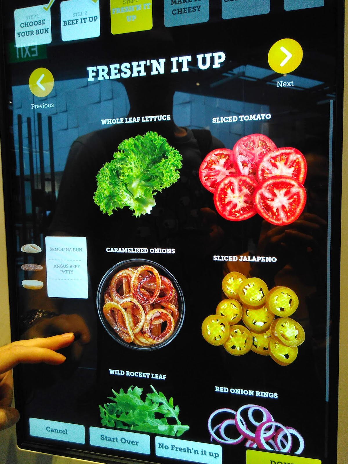 mcdonald s around the world create your taste burger singapore