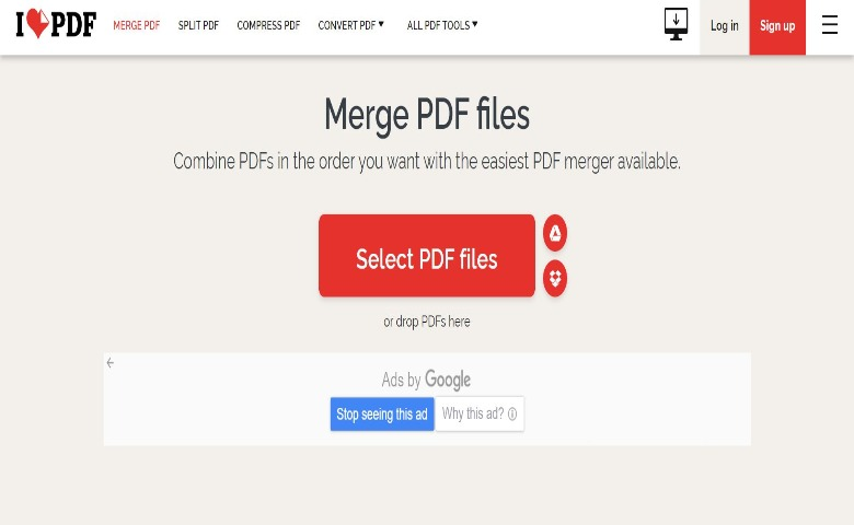 how to merge pdf files online