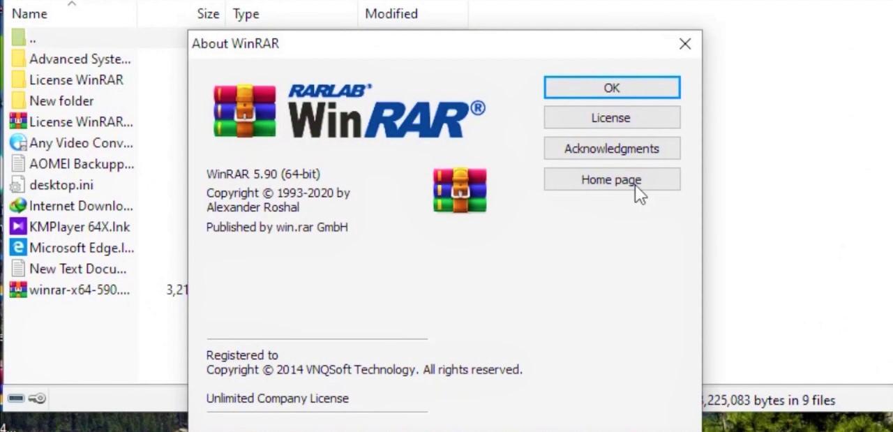 WinRAR 5.90 Final Full Version Terbaru