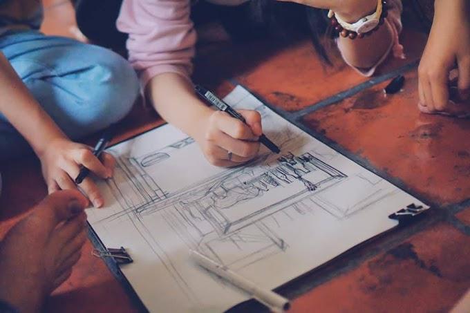 Học vẽ luyện thi, học Ký họa làm gì?